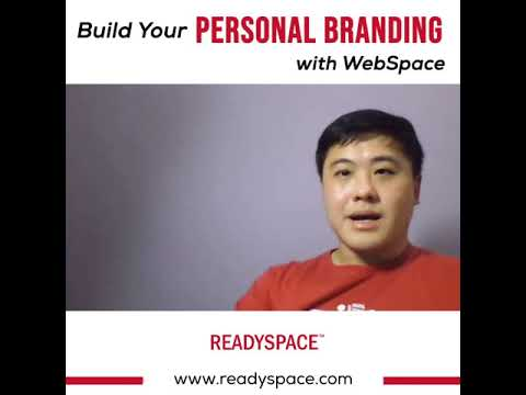 Build your personal branding with WebSpace