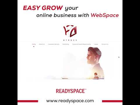 Easy grow your online business with WebSpace